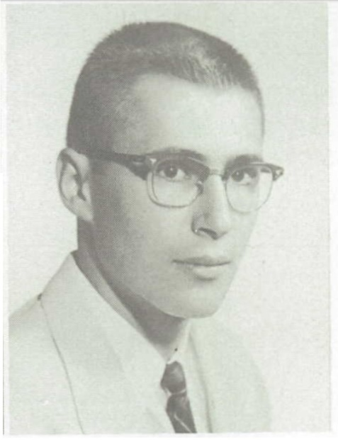 Class of 1960, Bill Etheridge, Gainesville High School, Gainesville, FL