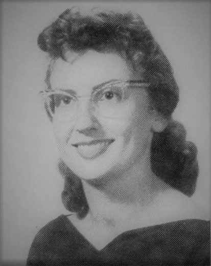 Gloria Jane Grissett of Ray City, GA. 1960 freshman at Valdosta State College.