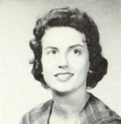 Gloria Jane Grissett of Ray City, GA. 1961 sophomore at Valdosta State College.