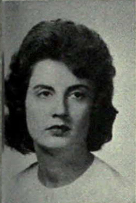 Gloria Grissett of Ray City, GA, 1963, University of Georgia