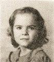 Dorothy Rice, 1949, 1st Grade, Ray City School