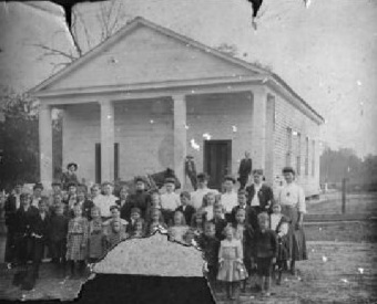 Salem Church, Lowndes County, GA circa 1866