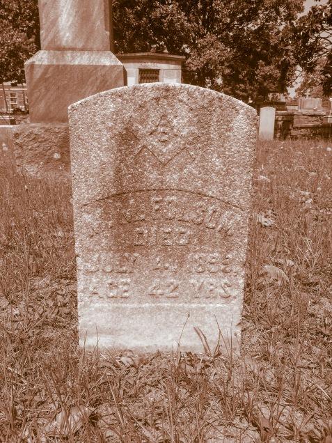 Grave of Montgomery Morgan Folsom, Oakland Cemetery, Atlanta, GA