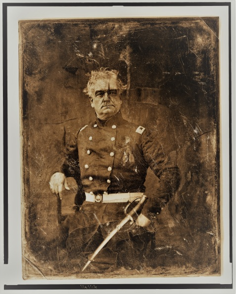 Thomas Staniford, major of the Regiment stationed near Franklinville, GA in 1836.