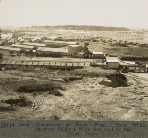 WWI Camp Pontanezen at Brest, France