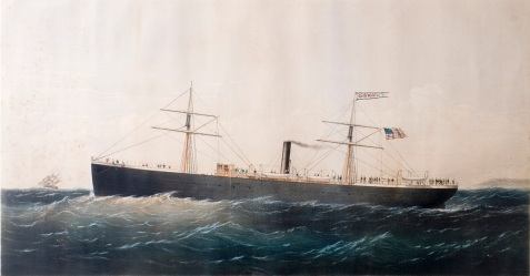 On November 2, 1861, following the 1861 Expedition Hurricane, the Confederate blockade runner CSS Bermuda escaped from the Savannah River bound for England. On the return trip it was captured by the US Navy & renamed the USS General Meade.