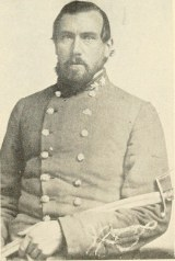 Col. Thomas W. Alexander, once Mayor of Rome, in the uniform he wore as a Confederate Army officer. Image source: A history of Rome and Floyd County.