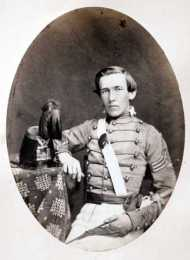 Twenty-six-year-old Lt. Col. Thomas James Berry, CSA, led a Regiment of Georgia troops, including the Berry Infantry, at the Battle of Port Royal. He was a graduate of West Point, class of 1857.