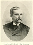 John Screven, president of the Atlantic & Gulf Railroad