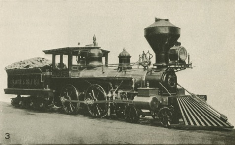 Satilla locomotive, Atlantic & Gulf Railroad