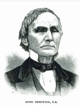 Adiel Sherwood, slave owner and outspoken Baptist advocate for slavery.